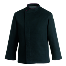 Picture of Chef Jacket BLACK COMFORT EXTRA Plus Sizes