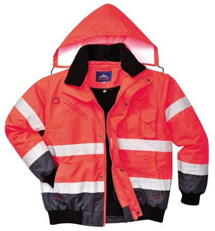 Picture of Jacket C465 Red/Blue