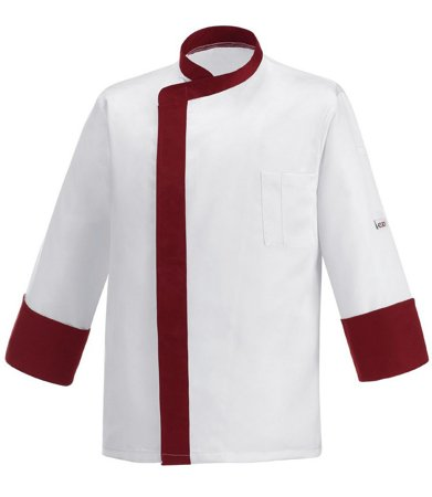 Picture of Chef Jacket Bordeaux Band
