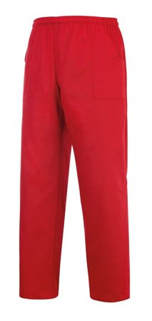 Picture of Chef Trousers Coulisse Pocket Red