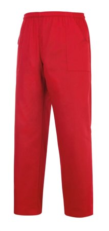 Picture of Nursing / Medical Coulisse Pockets Trousers Red