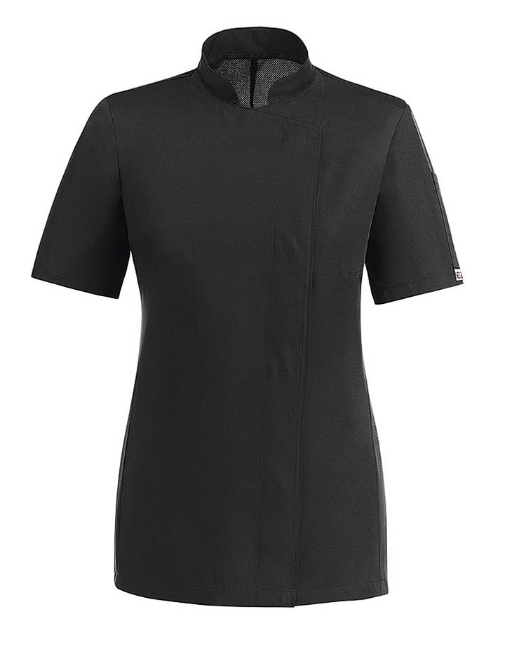 Picture of Chef Jacket Easy Girl MM 100% Microfiber / Black