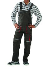 Picture of Basalt Dungarees 2833 olive/red