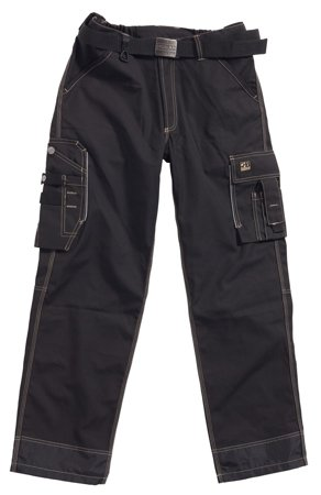 Picture of Thor Basic Work Trousers Black