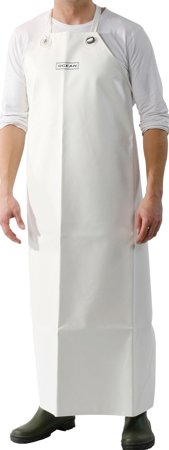 Picture of Waterproof Work Apron Industrial Apron 540g PVC White