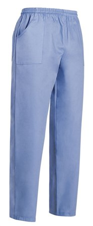 Picture of Nursing / Medical Trousers Coulisse Pockets  Light-Blue
