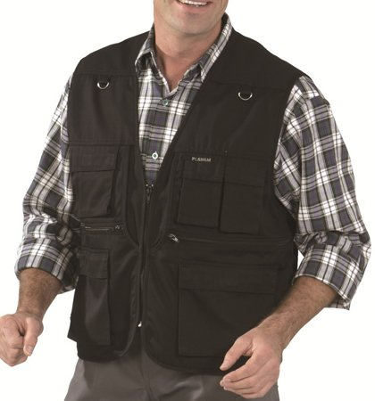 Picture of Work Vest Summer-Vest 1410 Black