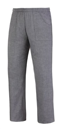 Picture of Chef Trousers Coulisse Pocket Grey Mix