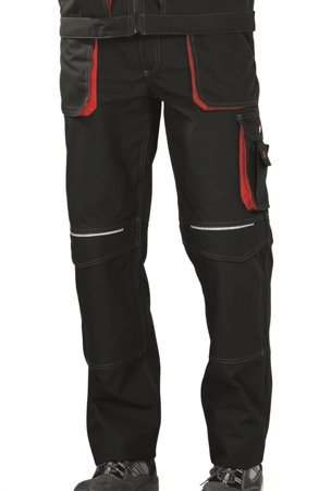 Picture of Work Trousers Basalt 2820 anthracite/red