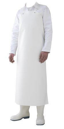 Picture of Waterproof Work Apron YANKEE / White