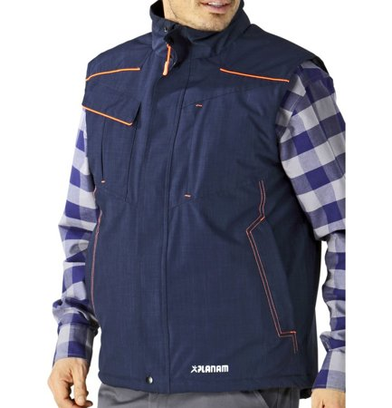 Picture of Work Neon Vest 3396 navy/orange