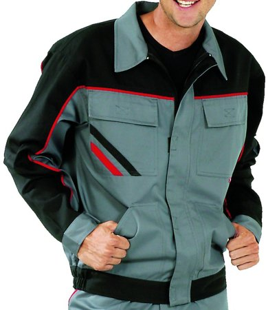 Picture of Jacket Highline 2312 Grey/Black/Red