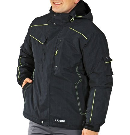 Picture of Waterproof Neon Jacket 3394 grey/green