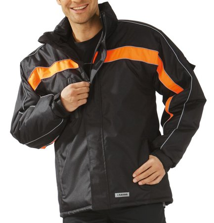 Picture of Waterproof Cosmic Jacket 3601 black/orange