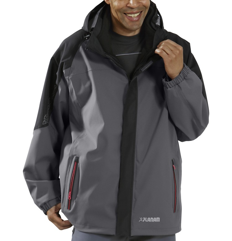 Picture of Waterproof Triple Jacket 3641 grey/black