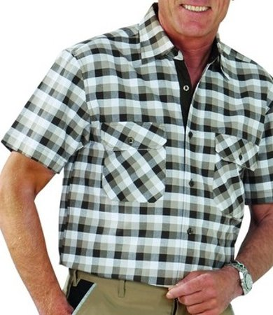 Picture of Men's shirt Country Stone checked 0488