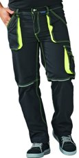 Picture of Work Trousers Basalt Neon 6220 Anthracite/Yellow