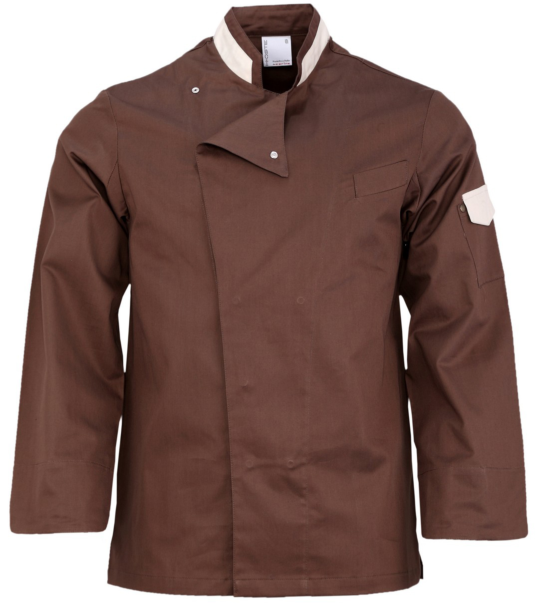 Picture of Chef Jacket Jack Brown - White