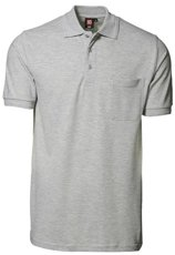 Picture of Classic Polo shirt 0520 Grey Melange