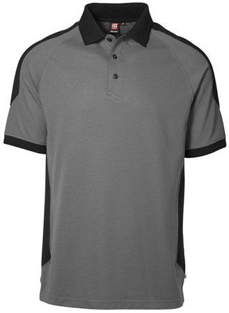 Picture of PRO wear Polo shirt 0322 Grey/Black