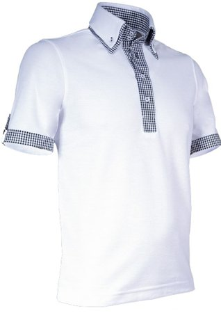 Picture of Men's Polo modern New Orleans 905 White