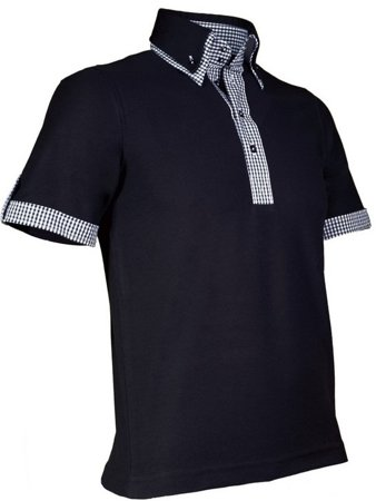 Picture of Men's Polo modern New Orleans 905 Black