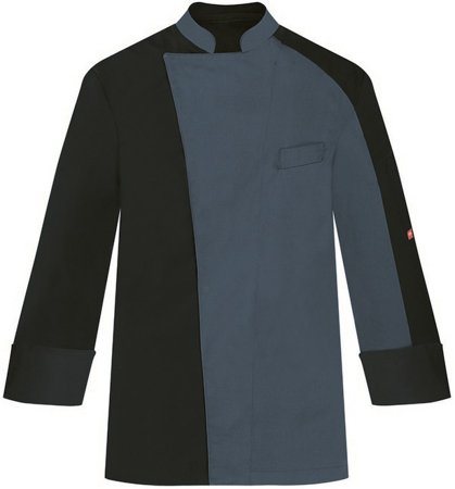 Picture of Chef Jacket Everest 1559 black/grey