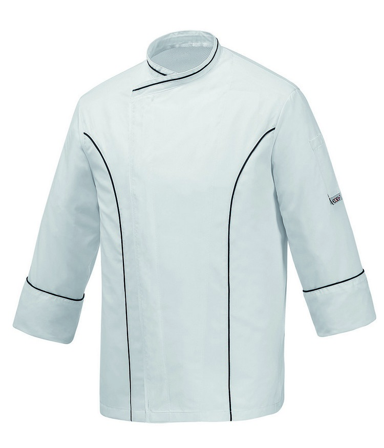 Picture of Chef Jacket White Master 100% Microfiber