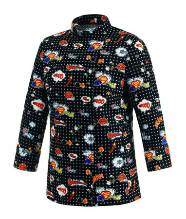 Picture of Chef Jacket Pop Art Woman