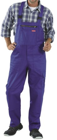 Picture of Cargo Bib-Pant Dungarees 0171 blue royal