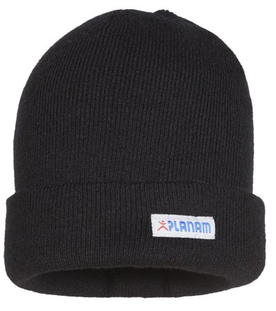 Picture of Knitted hat with turn-up 6031 / Black