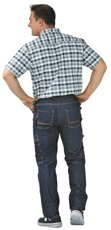 Picture of Trousers Dark Denim 6320