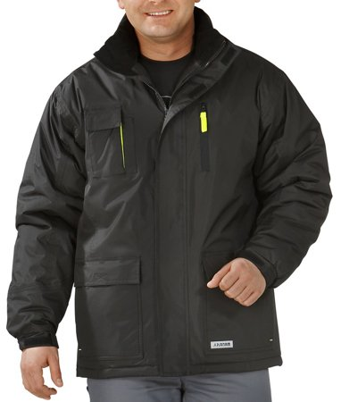 Picture of Waterproof Jacket Flare Parka 3650 black/yellow