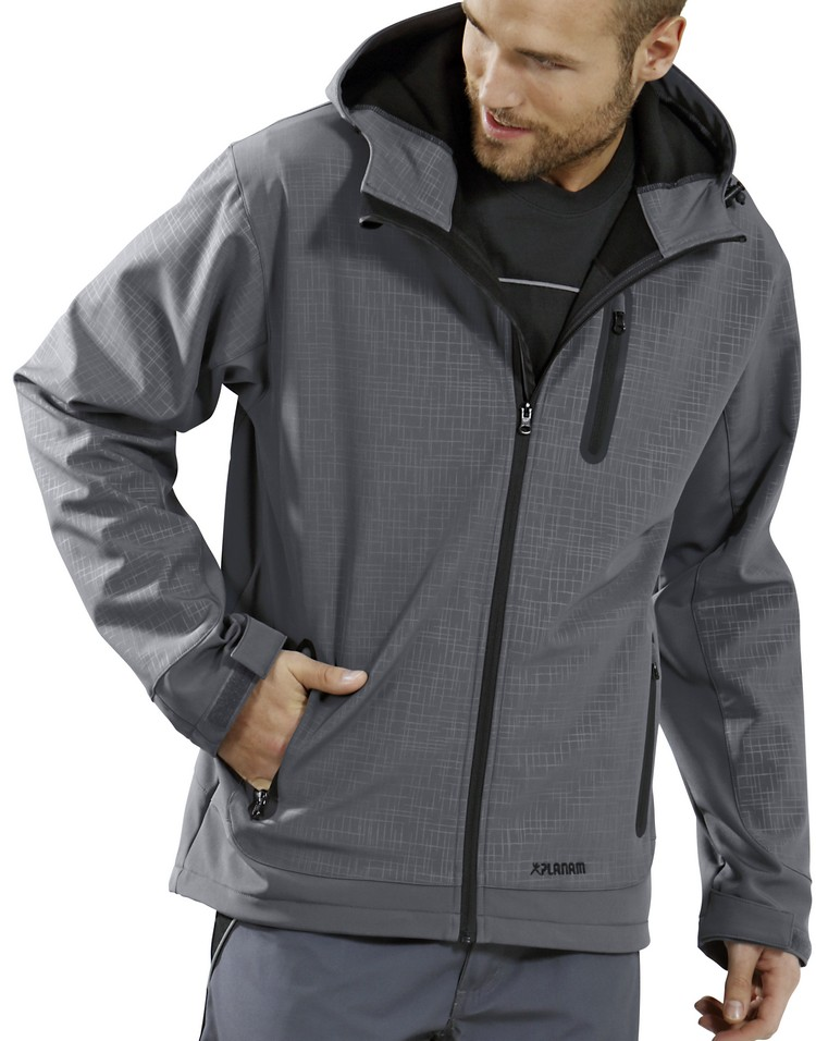 Picture of Cube Softshell Jacket 3700 black