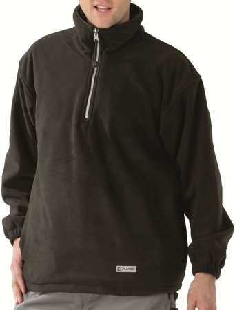 Picture of Relax Fleece Troyer 0349 μαύρο/ανθρακί