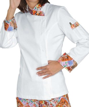 Picture of Chef Jacket Giacca Lady Snaps Delicious 057727