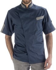Picture of Chef Jacket Σακάκι Chef Performance Avio Grigio Blue-Grey