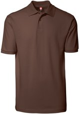 Picture of YES Polo shirt 2020 Mocca