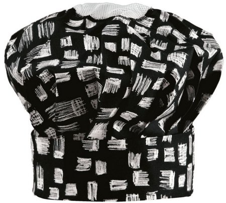 Picture of Chef's Hat 1249 Black Pattern