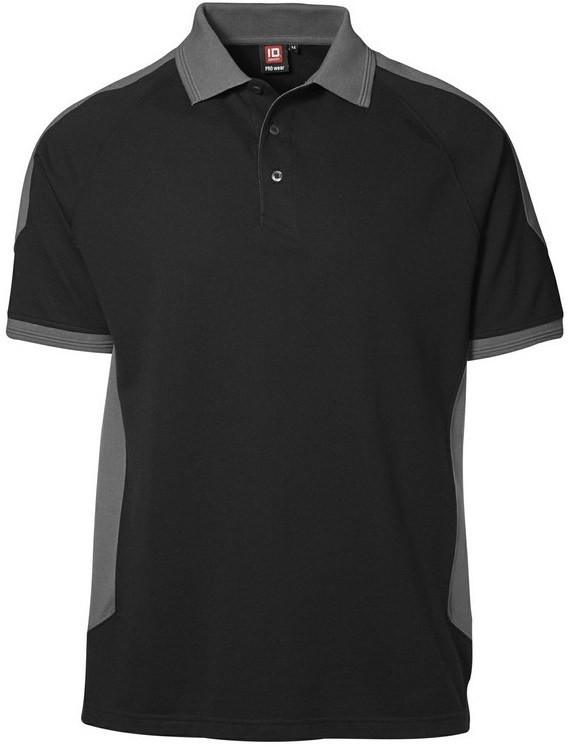 Picture of PRO wear Polo shirt 0322 Black/Grey