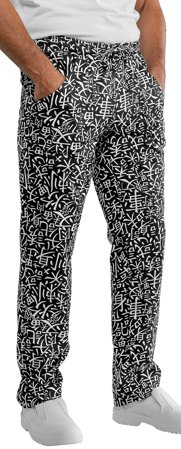 Picture of Chef Trousers Pantalaccio Sushi 01 Black/White - 044672