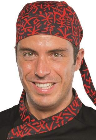 Picture of Bandana Sushi 07 Black/Red 124073