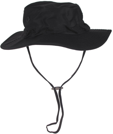 Picture of US Bush hat Rip Stop 10713A / Black