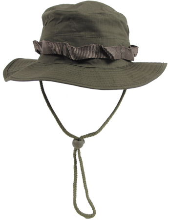 Picture of US Bush hat Rip Stop 10713B / OD Green