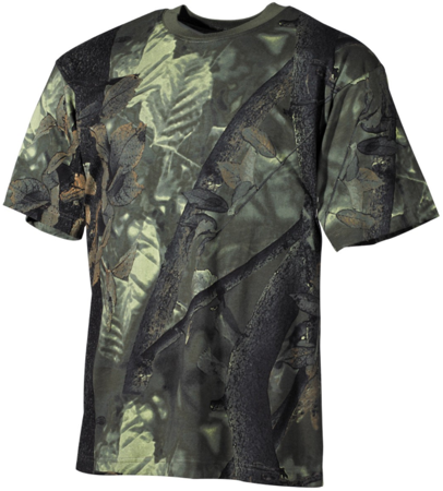 Picture of US T-Shirt 00105A hunter-green