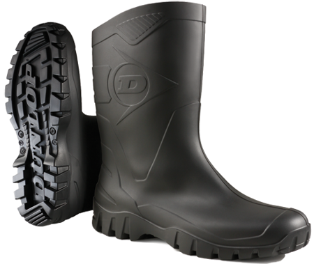 """Picture of Dunlop Boot """"DEE"""" K580011 / Black"""
