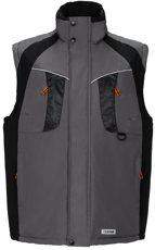 Picture of Work Space Vest 3360 grey/black