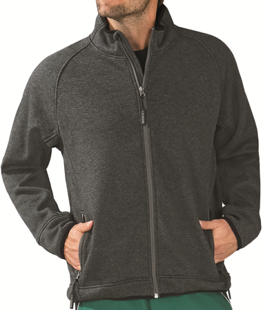 Picture of Shade Fleece Jacket 3742 black/grey