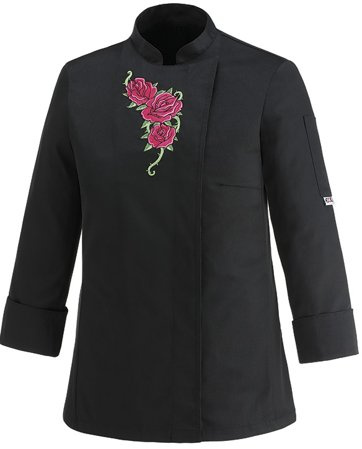 Picture of Chef Jacket Flowers Rose