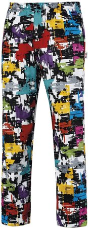 Picture of Chef Trousers Coulisse Graphic